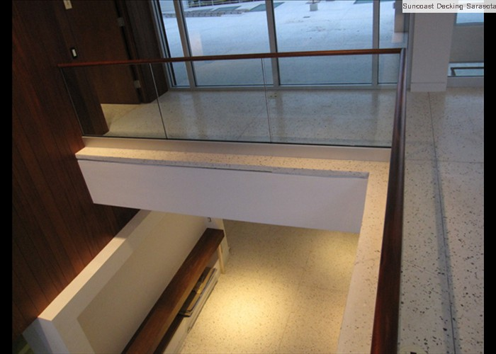 cantilever edge shell stone interior
