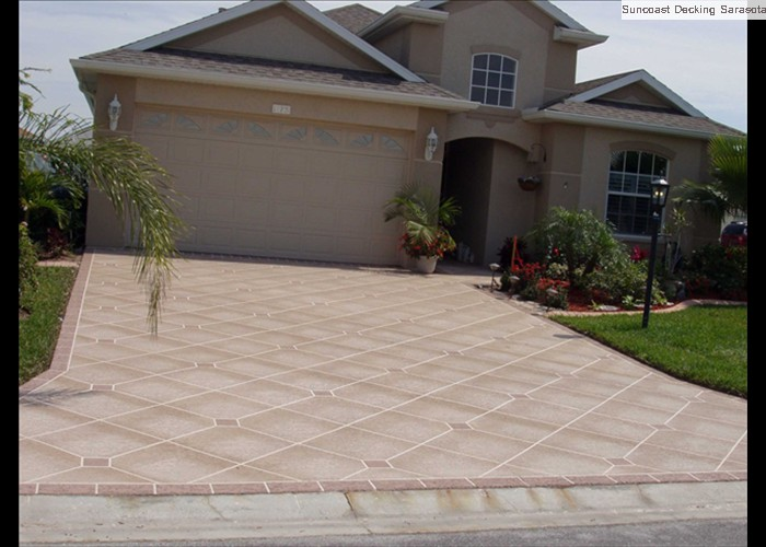 diamond shading driveway